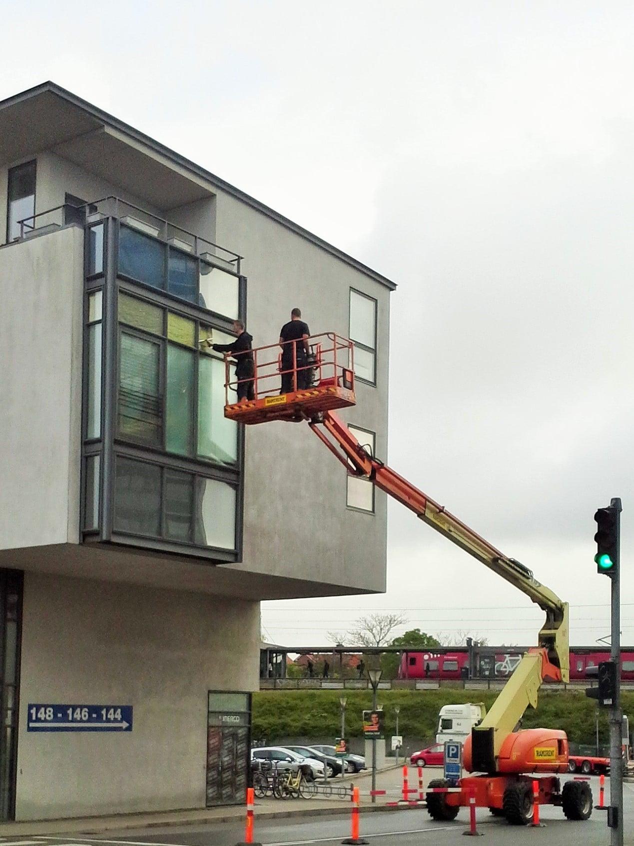 vinduespudser erhverv